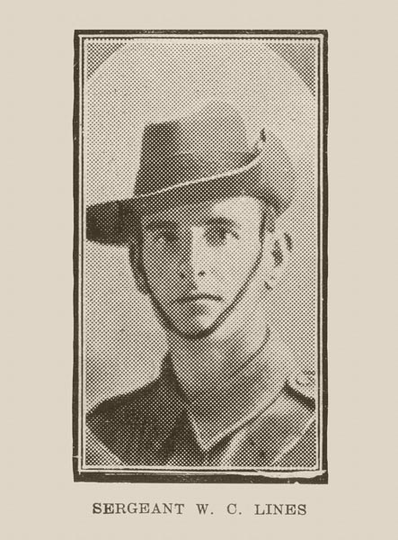 Sergeant W.C. Lines