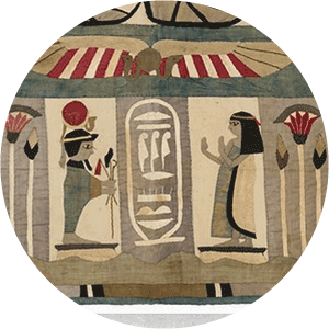 Egyptian wall hanging, 1917-1918. Part of: Jane McLennan Collection, 29666/5