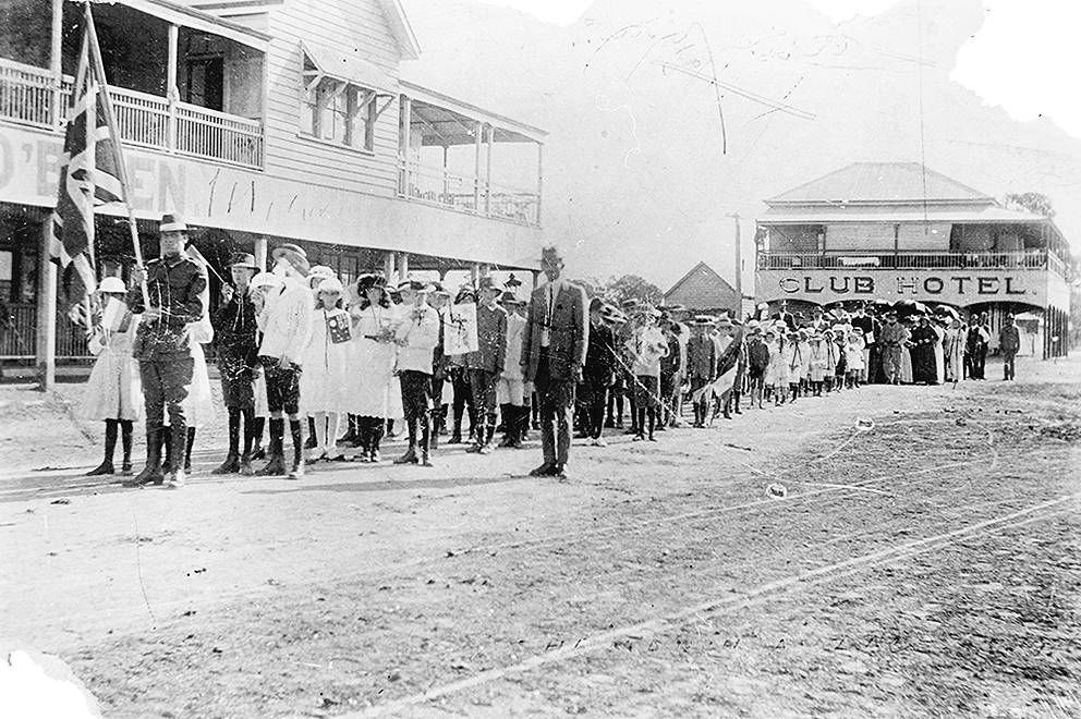 First Anzac Day Procession, Yuleba, 1916